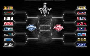 2013 NHL playoff bracket by bbboz