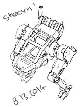 Steam Mech by SimsDoc