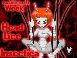 Insectica - Head Lice - Parasitic Insect Week by PlayboyVampire