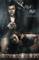 Save me||Book Cover by blackheartHS