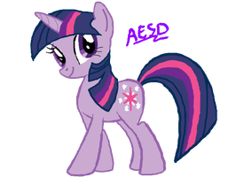 My Little Pony: Twilight Sparkle by AESD