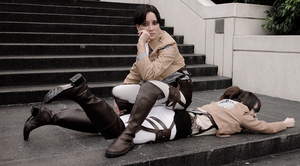 SnK Cosplay: It's My method of Discipline by mind-crash