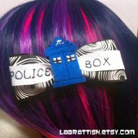 TARDIS bow by labrattish