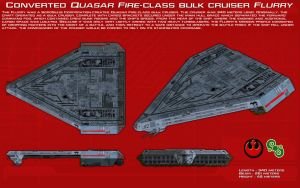Converted Quasar Fire-class Flurry ortho [New] by unusualsuspex