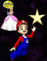 Mario and Princess Peach by SilkaLiveDoll