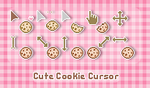 Cute Cookie Cursor by sosogirl123
