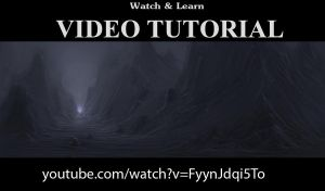 VideoTutorial - Rockyscape #2 Speedpainting by p00se2