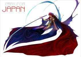 Pray for Japan by rusharil