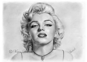 Marilyn Monroe by vipinkabadi