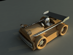 Racing Toy Car by drawzerRB