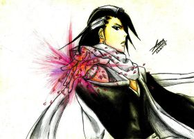 byakuya kuchiki by Why-Just-Why
