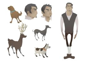 CharactersDesign by Ivernalia