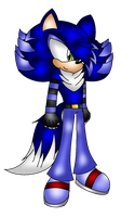 |\:.{ Johnny The HedgeWolf }.:/| by XRayHedgehogX