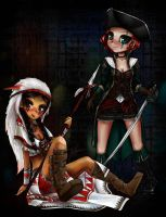 The Independent and Lady Maverick by Lady-Xelles