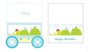 Happy Birthday - Video Game Card by wflead