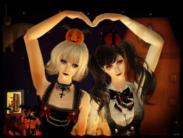 The Haunted Dolls by Seinendre