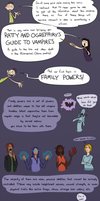 Guide To Vampires: Family Powers by CrazyRatty
