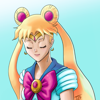 Sailor Moon by Los-Chainbird