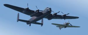 Battle of Britain Memorial Flight by SWAT-Strachan