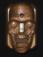 Zombie Switch Plate by AfterlightRob