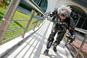 Metal Gear Rising Revengeance - Raiden Cosplay by karlonne