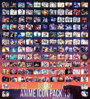 Anime Icon Pack 18 by Reyhan06