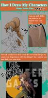 How I Draw My Own Characters:Part 7 by Free-man12