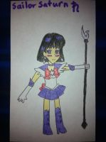 Sailor Saturn by airbornewife71