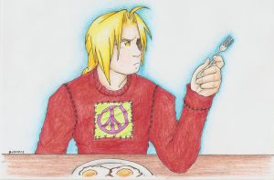 FMA - Make Breakfast N0T War by vidramidra
