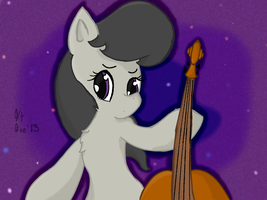 Octavia with her Cello by Mental-D-Andrew