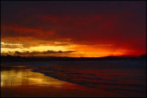 Last light at Byron by wildplaces