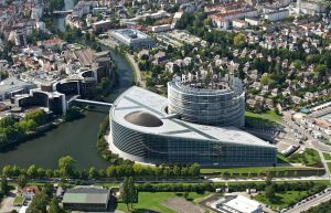 European Union Parliament 01 (Tower of Babel) by NixSeraph