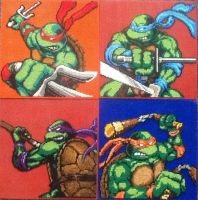 All Epic TMNT sewing patterns by Serenity9900