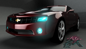 2010 Camaro 3D by pinkaholicgurl