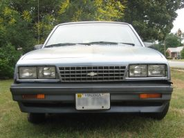1984 Chevy Cavalier low front view by Reyphotos