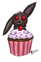 It's MY CUPCAKE!! (Speed Draw) by elphaba-rose-wilde