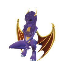 : Female Spyro requested : by iPawx