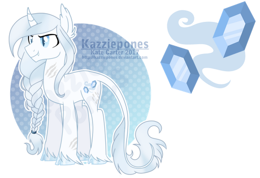 [COM] Custom Elven Unicorn Stallion by Kazziepones