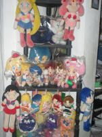 SAILORMOON COLLECTION DISPLAY2 by prinsesaian