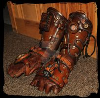 Bracers Steampunk2 by Lagueuse