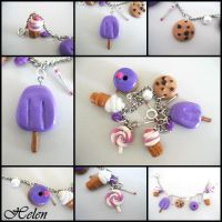 yum charm bracelet by heavenhelen13
