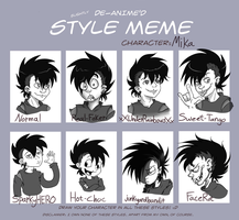 Style Meme: Mika by Clawshawt