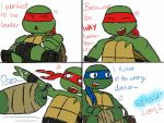 Wrong Direction - A Raph and Leo Comic by Lilgirl6664