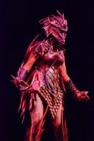 Dragoness Stage shot at FC by Red-Dragon-Lord