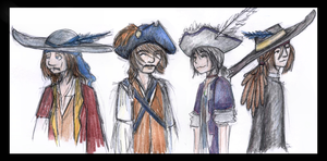 The Piratles...Come Together by xlizx