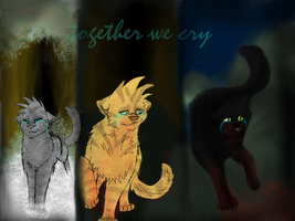 The Power Of Three: we cry by Sootfrost1