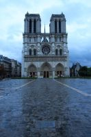 Notre Dame by lluviosa
