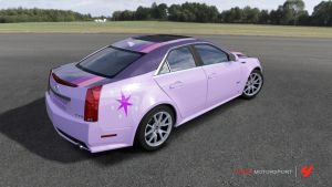 Twilight Sparkle Cadillac CTS-V by RamenWolf1485