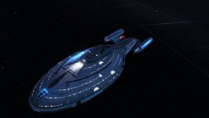 USS Discovery - Side View by LancetheB1