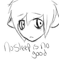 No sleep is NO good by MickieAleksanderThe2